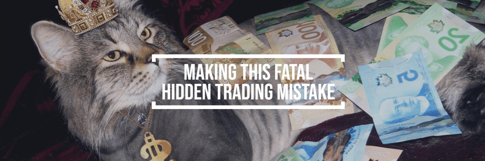 Evite este error fatal de trading